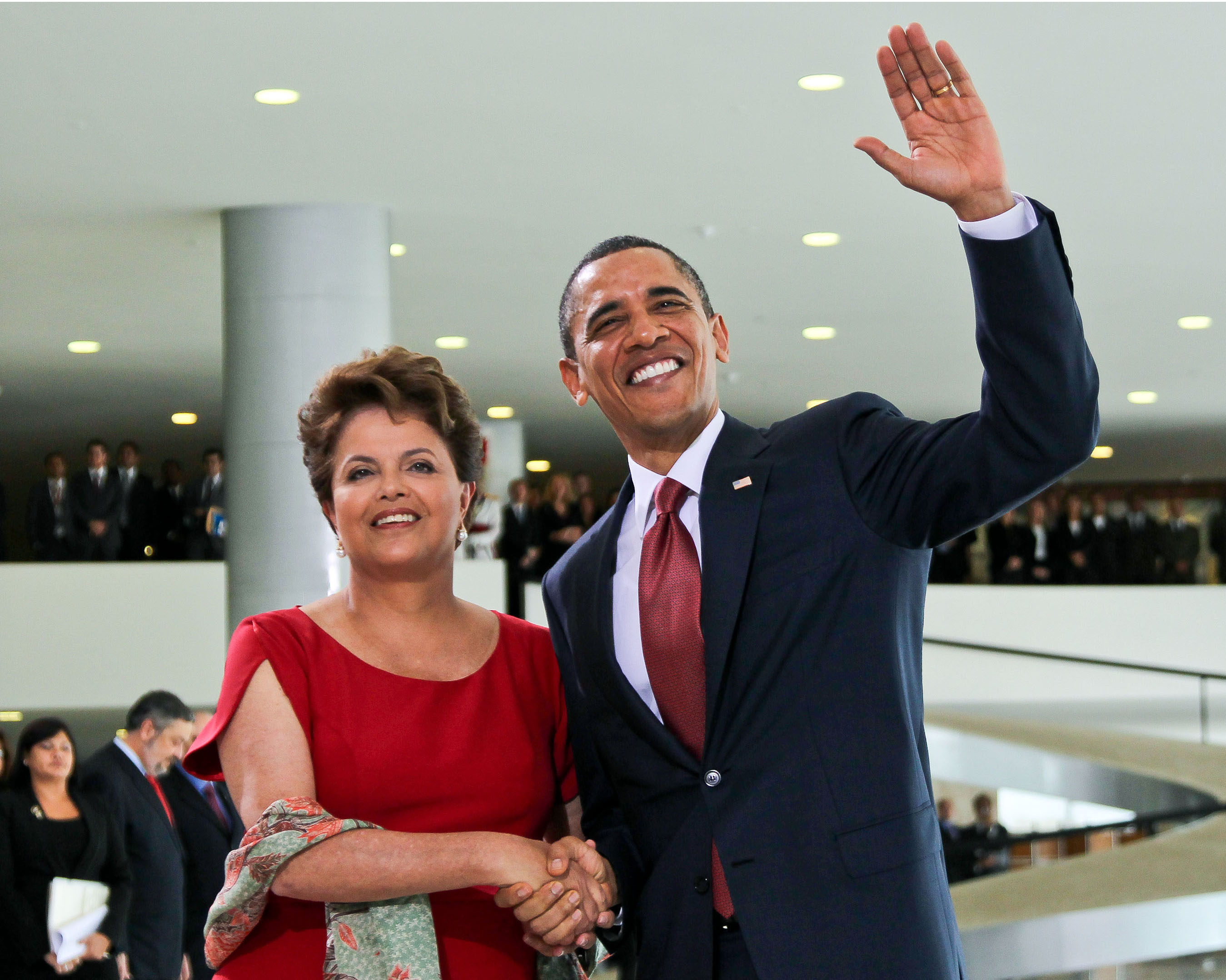 Obama in brazil photos Watching Obamas Watch The First Five Years