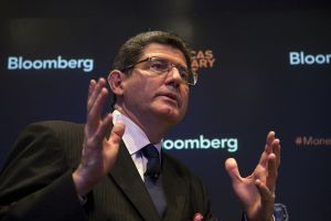 Brazil's Finance Minister Joaquim Levy. Photographer: Michael Nagle/Bloomberg