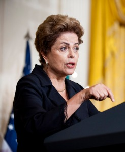 Dilma Rousseff, Brazil's president. Photographer: Pete Marovich/Bloomberg